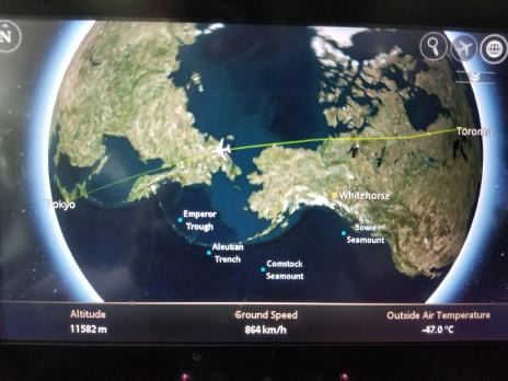 Flying over Siberia (2/2)