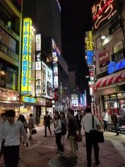 Shinjyuku city block